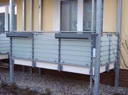 balkon sichtschutz aus glas metallbau grebien gmbh fehmarn