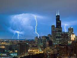 photo of the day chicago thunderstorms and weather