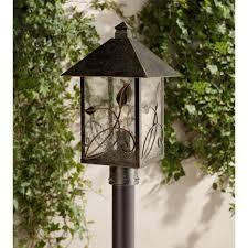 Outdoor Pillar Lights Garden Outdoor Pillar Post Light Gate Post Lights Craft Looks