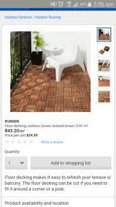 ikea runnen tiles building materials gumtree australia