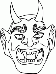 coloring pages halloween masks halloween mask coloring pictures fun for christmas