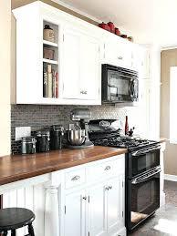Cream Colored Kitchen Cabinets With White Appliances Kitchen Cabinets With White Appliances Best White Appliances Ideas