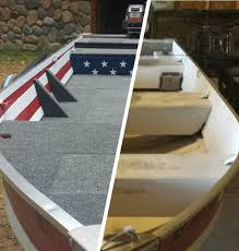 Boat Interior Refurbishment Aluminum Boat Fishing Conversation And Restoration 13 Steps
