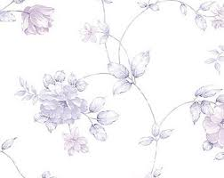 light blue and white rose toile wallpaper for wall pearl sheen