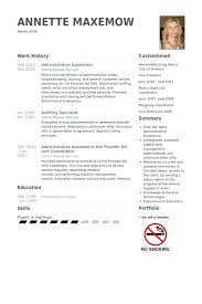 Supervisor Resume Sample Free by Administrative Supervisor Resume Samples Visualcv Resume Samples