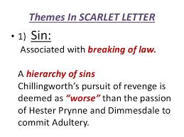 the scarlet letter themes u0026 symbols