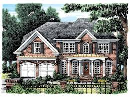 brick colonial house plans 44 best functional house plans ideas images on