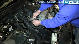 how to install replace coolant thermostat 1992 1998 honda civic