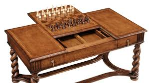 Chess Table And Chairs High End Furniture Game Coffee Table