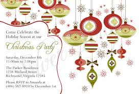 december dinner invitation clipart collection