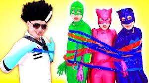 pj masks episodes cartoon disney bad kids sing finger family