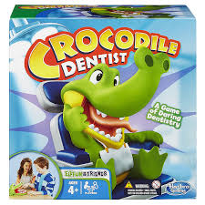 hasbro elefun and friends crocodile dentist game amazon co uk