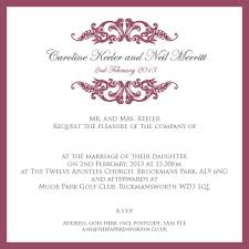 Invitation Wording Wedding Proper Wording For Wedding Invitations Stephenanuno Com