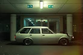 green station wagon toyota corolla station wagon ke74 youtube