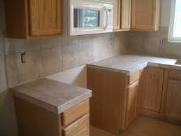 Countertop Tiles Tile Kitchen Countertop Over Laminate Inspirations With