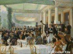 The Dinner Party Painting Jules Grun - the dinner party 1911 old pictures pinterest dinner