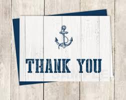 nautical wedding sayings nautical thank you etsy