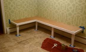 How To Make A Dining Room Table Furniture Corner Banquette How To Build A Kitchen Banquette