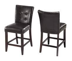 Leather Dining Chair With Arms Furniture Of America Tornillo Leatherette Counter Height Dining