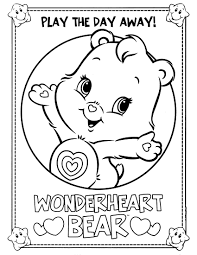 care bears 21 coloringcolor