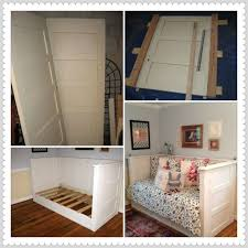 how to build a daybed with trundle old door day bed made from