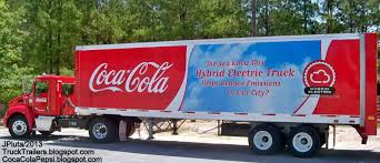 electric company truck coca cola pepsi 7up dr pepper plant photo soda bottle vending