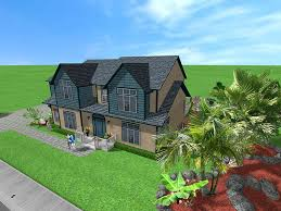 house exterior collage plan design software perky chief architect