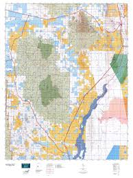 Blm Maps New Mexico by New Mexico Gmu 17 Map Mytopo