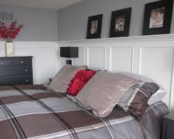 bedroom wainscoting