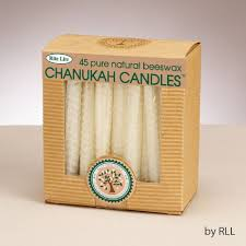 hanukkah candles colors 1 x chanukah candles honeycomb beeswax