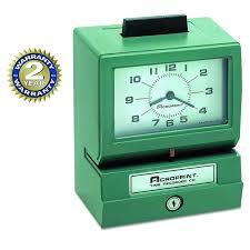 time clocks amazon com office u0026 supplies time clocks