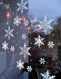 snowflakes stencil henny donovan motif