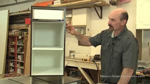 diy cabinet building base cabinet assembly youtube