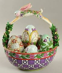 jim shore easter baskets jim shore easter at replacements ltd