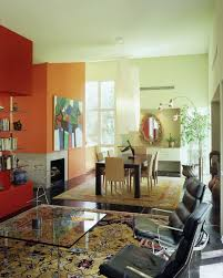 painting open floor plan accent wall
