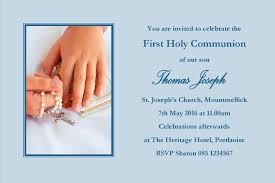 communion invitations boy personalised communion invitations boy design 12