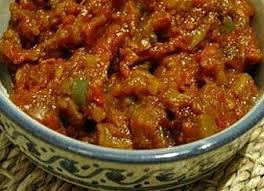 cuisine marocaine recette de caviar d aubergine à la marocaine de ma maman