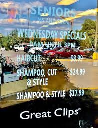 are haircuts still 7 99 at great clips great clips 6 99 haircut sale 2018 sami cone family budget