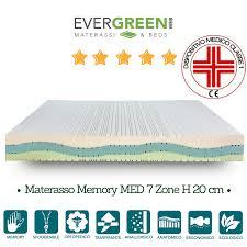 materasso evergreen kit materasso memory silver memory med rete a doghe cuscino memory