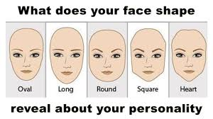 what does your face shape say about your personality take this