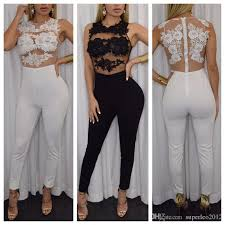 white jumpsuits and rompers for 2018 jumpsuit special for s date
