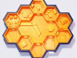 honeycomb home design bee inspired 3d printed house wins makerbot nasa s mars housing