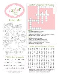 4 best images of free easter coloring printables free printable