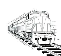 coloring page train car diesel train coloring pages yuga me