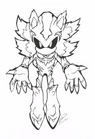 sonic and shadow coloring pages dark sonic coloring pages funycoloring