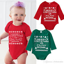 new year baby clothes 2018 christmas baby rompers suit unisex toddler new year clothing