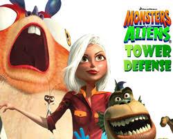 monsters aliens games free monsters aliens games