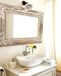 small bathroom mirror ideas 50 unique bathroom mirror ideas for a small bathroom derekhansen me