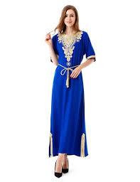 muslim women long sleeve dubai dress maxi abaya jalabiya islamic