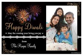 10 personalised diwali devali celebration new year photo cards n1